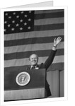 Gerald Ford At Podium by Corbis
