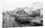 British Army Vehicles in the Falkland Islands by Corbis