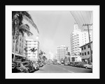 Collins Avenue from the South by Corbis