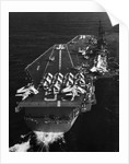 Aircraft Carrier USS Forrestal Out to Sea by Corbis