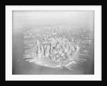 Aerial View of Manhattan by Corbis