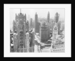 Chicago Skyscrapers in the Early 20th Century by Corbis