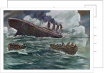 Drawing of the Sinking of the Titanic by Corbis