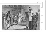 Public Worship At Plymouth by Corbis