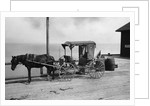 Old Time Horse And Buggy by Corbis