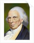 Portrait of James Madison by Corbis