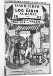 Almanac Cover Depicting Harrison and Tyler by Corbis