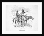Crow Indian Scouts by Corbis