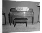 Irving Berlins Specially Built Piano by Corbis