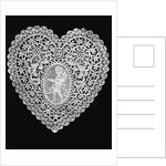 Lace Heart Doily by Corbis