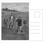 Men In Knickers Playing A Game Of Golf by Corbis