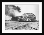 Burning Shell of the Hindenberg by Corbis