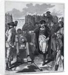 George Washington Firing First Cannon by Corbis