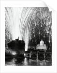Fireworks over Sant'Angelo Bridge in Rome by Corbis