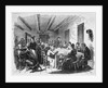 A Quilting Pary In The 19Th Century by Corbis