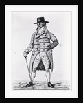 Engraving Of Fashionable English Gent by Corbis