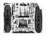 French Frigate; Parts by Corbis
