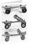 Three Different Kinds of Roller Skates by Corbis