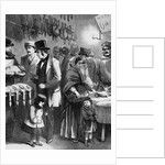 Rich And Poor; or, the Two Christmas Dinners Illustration by Corbis
