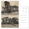 Engraving Of Mechanical Printing Press by Corbis