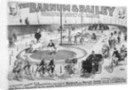 Barnum And Bailey Circus Advertisement by Corbis