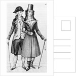 Engraving Of Two French Bourgeois by Corbis