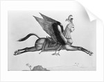 Arabic Horse With Human Face And Wings by Corbis