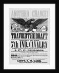 Civil War Poster Offering Draft Avoidian by Corbis