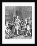 Aristocrat Of Rococo Period During Levee by Corbis