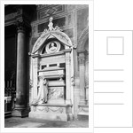 Tomb Of Composer Rossini by Corbis
