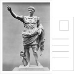 Augustus of Prima Porta Ancient Roman Statue by Corbis