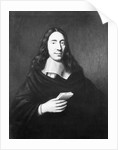 Painting Of Dutch Philosopher Spinoza by Corbis