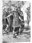 Lithograph Of Roman Officer by Corbis