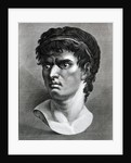 Engraving Of Head Of Brutus by Corbis