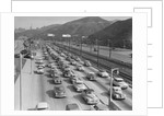 Traffic On Hollywood Freeway by Corbis
