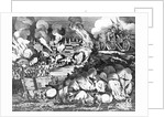 Illustration of Various Scenes of the War of 1812 by Corbis