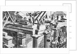 Construction Of Temple In Ancient Greece by Corbis
