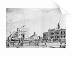 Drawing Of Life Around City Hall, Ny by Corbis
