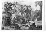 Indians Negotiating With Merchants by Corbis