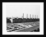 Exterior View Of Largest Steel Foundry by Corbis