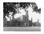 Exterior View Of Smithsonian Institute by Corbis