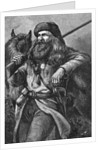 Illustration of the American Trapper by Corbis