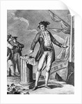 Engraving Of Captain James Cook by Corbis
