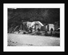 Entrance To The Simplon Tunnel In Brieg by Corbis