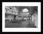"Empty ""Great Hall"" At Ellis Island by Corbis"