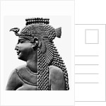 Egyptian Relief Of Cleopatra Vii by Corbis
