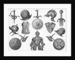 Engraving Of Arms And Armor; 16Th To 17T by Corbis