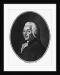 Engraved Portrait Of J.I. Guillotin by Corbis