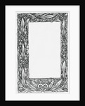 Image of Frame with Floral Motif by Corbis