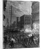 Rail Road Strike In Baltimore by Corbis